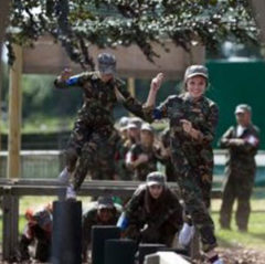 Hatton Adventure World Lazer Combat Assault Course Attraction