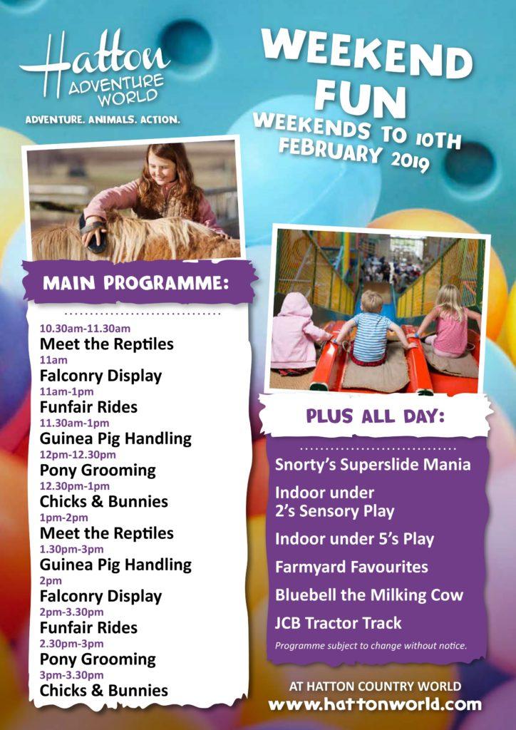 Hatton Winter Weekend Programme