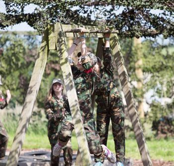 Hatton Adventure World Laser Combat Children Climbing