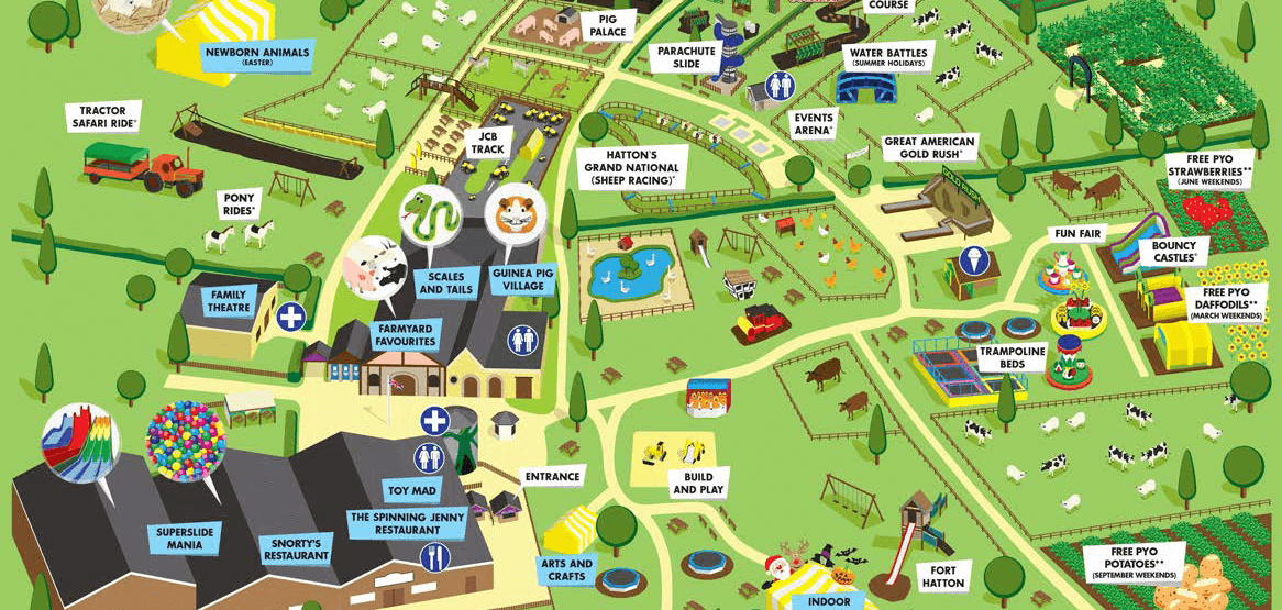 AdventureWorld Park Map Crap