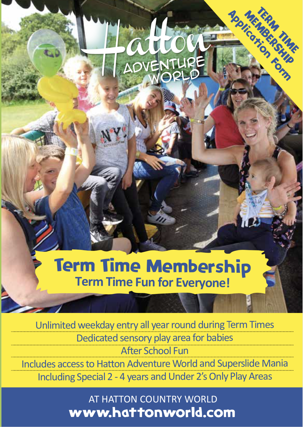 Hatton Term Time Membership