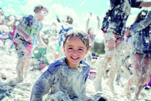 Summer Foam Party